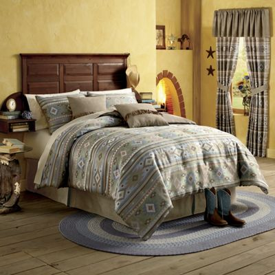 Scottsdale Comforter Set, Pillow and Window Treatments
