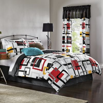 Hip Squares Comforter Set