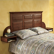 Copper Mountain Headboard and Nightstands