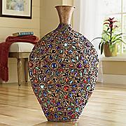 jaipur jewel vase