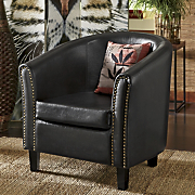 nailhead club chair