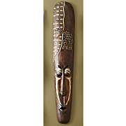 hand carved traditional mask