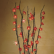 Lighted Flower Branch