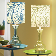 Ferndale Glass Table Lamp