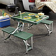 nfl portable picnic table