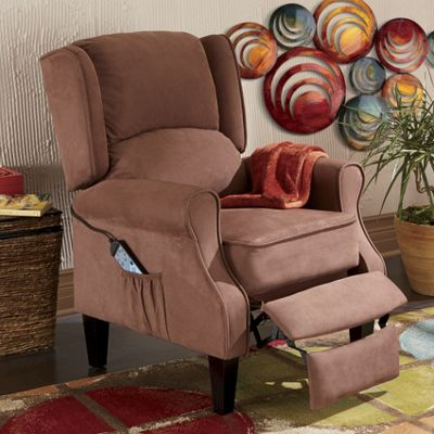 heated massage wingback recliner