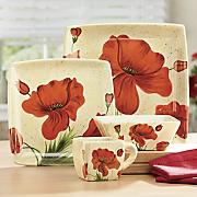 16 piece poppy dinnerware set 2
