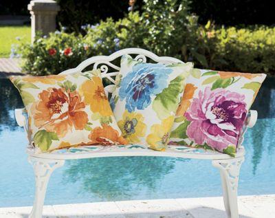 Flower Garden Pillow