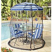 patio umbrella bug screen