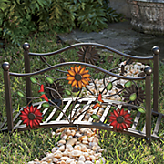 floral mini bridge