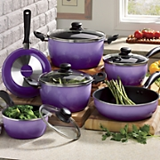 Seventh Avenue 10-Piece Nonstick Flair Cookware Set