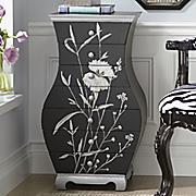 Midnight Grove Hourglass Cabinet
