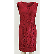 annalise crochet dress