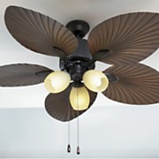 exotic leaf ceiling fan