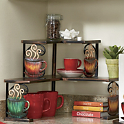 coffee corner shelf 30
