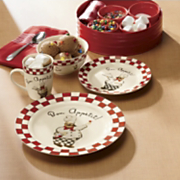 16 piece bon appetit chef dinnerware set