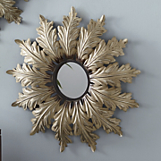 Versailles Leaf Wall Mirror