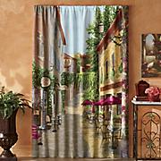 tuscan village window panel pair