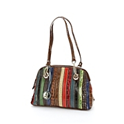 animal stripes handbag by marc chantal