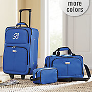 3 piece personalized luggage set