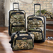3 piece ranger camouflage luggage set by team realtree