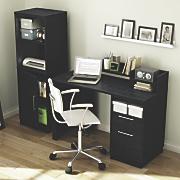 deidre secretary desk bookcase