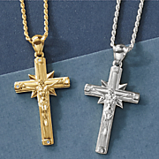 large crucifix pendant