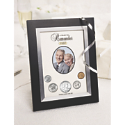 Personalized Year To Remember Coin Picture Frame