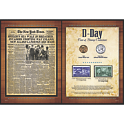 ny times d day coin and stamp collection