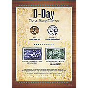 New YorkTimes D Day Coin and Stamp Collection