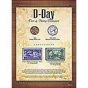 New York Times Battle of Gettysburg Coin and Stamp Collection