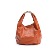 metal clasp hobo bag