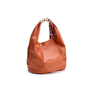 metal clasp hobo bag