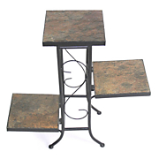 3 tier slate plant stand