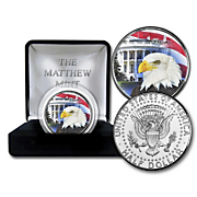 jfk white house eagle coin