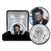jfk portrait coin