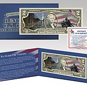 veterans day 2 dollar bill