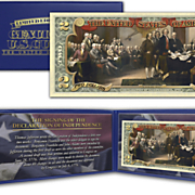 declaration of independance 2 dollar bill