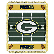 nfl baby woven throw