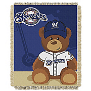 mlb baby woven throw