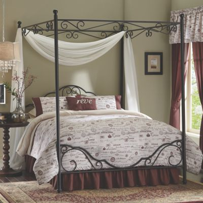 Giverny Scroll Canopy Bed From Seventh Avenue Dw706471