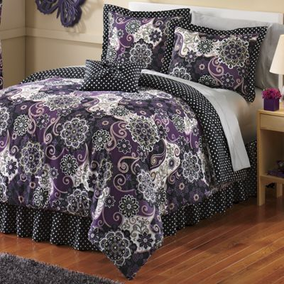 Jubilee Comforter Set, Pillow & Panel Pair