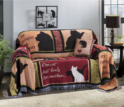 Kity Collage Furniture Throw and Pillow
