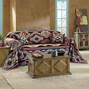southwest ambler throw and pillow