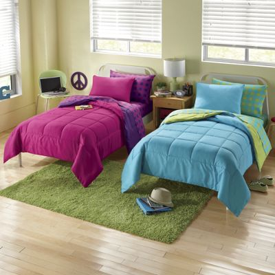 Campus Brights Reversible Bedding Set