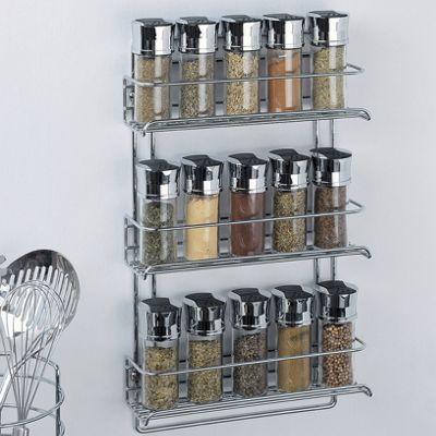 Wall Mount Spice Rack