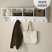 60 hanging entryway shelf