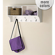 36 hanging entryway shelf