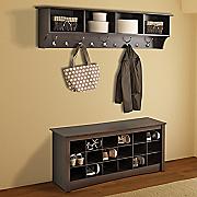 entry shelves shoe cubbie