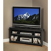 vasari flat pannel tv corner console